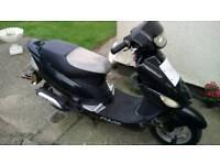50cc moped for scrap/repair.