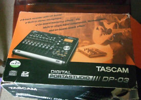 TASCAM DP-03 Digital Portastudio
