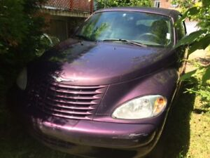 2005 Chrysler PT Cruiser Coupé DÉCAPOTABLE