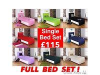 SINGLE BED SET - Rainbow 🌈 Bed Set ..Now £115 !