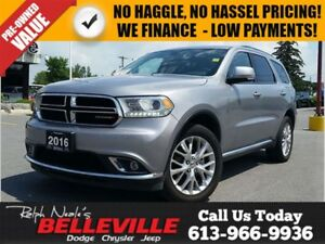 2016 Dodge Durango Leather- Heated Seats - 7 Passenger - 20 IMS