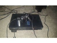 Playstation 2 + 1 controller + 1 game