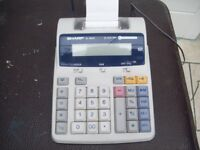 Sharp EL 1801E Euro Calculator