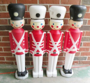 CHRISTMAS BLOW MOLD OUTDOOR ORNAMENTS 4'-5'