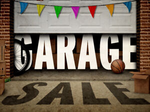 Garage Sale! Saturday and Sunday July 22 & 23 9am - 2pm