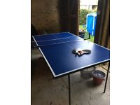 Three quarter size table tennis table