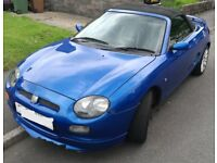 MGF Trophy 160 Convertible 1.8 VVC – Limited Edition (2001)