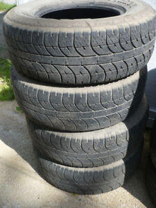 "4- P265/70R16"" TRUCK TIRES"