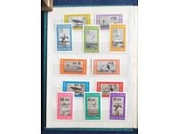 Calf of Man/ IOM stamp collection, most are mint unmounted. Free postage UK mainland.