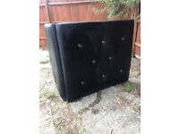 Salon furniture/equiptment footrests pictures basins chairs washing machine shelves