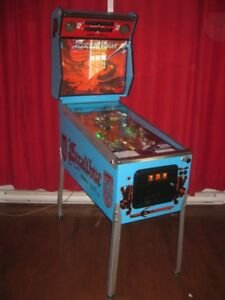 Machine à boule reconditionnée pinball arcade
