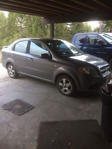2007 Chevy Aveo only 137 000kms