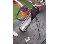 Half Set Golf Bag with automatic stand