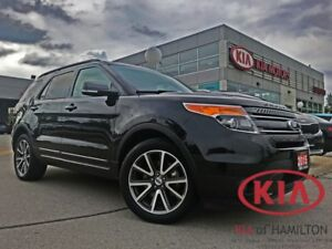 2015 Ford Explorer XLT V6 4WD | 1OWNER | ENTERTAINMENT | AS-IS