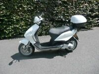 Very very low mileage Piaggio Scooter only used when touring in Motorhome