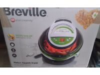 Fryer BREVILLE 99.5 % less oil Halo+health fryer RRP PRICE £ 60