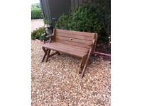 Summer seat/ picnic table