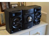 Sony MHC-EC69i Mini Hi-Fi - 100W, Aux, iPhone Dock, CD Player, Radio - Remote Included