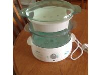 Tefal electric steamer