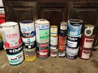Selection of Paints – 22 Tins