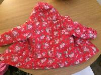 Age 2-3 girls winter coat in excellent condition