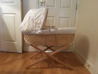 Mothercare Moses Basket with Stand