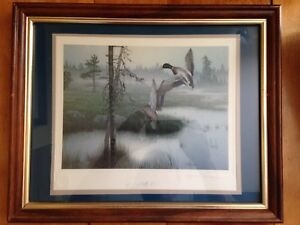 Signed Numbered Framed Prints by K Grove and D Rogers