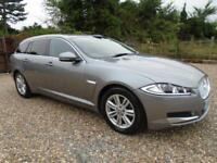 LUXURY ESTATE 2013 Jaguar XF 3.0TD V6 240ps Sportbrake Auto * 1 OWNER * FSH JAG