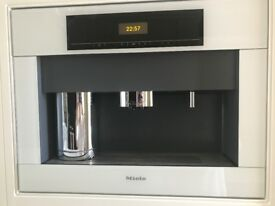 Miele White integrated Coffee Machine