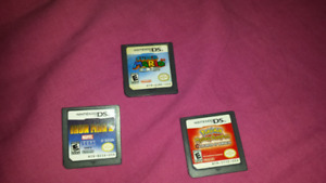DS GAMES - 5 each