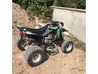 Suzuki LTZ 400 road legal quad ( not ltr banshee blaster raptor my swap px recovery lorry car van
