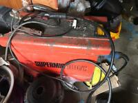 Sealey supermig 180/1 mig welder 180 amp turbo working complete with wire