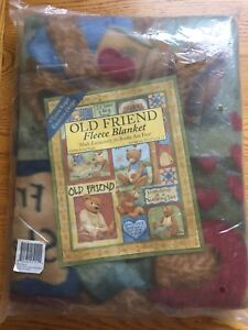 Old Friend Fleece Blanket