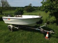 (2 boat package) Seabird 600 (unsinkable) sports boat + Topper sailing boat, (2 boat package).