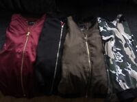 Girls bomber jackets