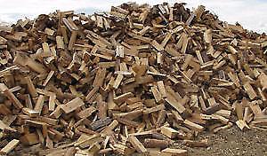 Bush Cords of Hardwood Firewood, Cut, Split, Delivered