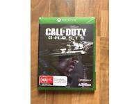 call of duty ghosts (brand new & sealed) , xbox one ! price stands , no offers !