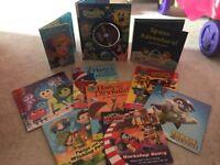 Brand new books/activity books