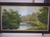 Terry Evans oil painting