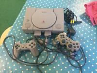 PS1, PS2 with controllers and games