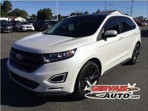 Ford Edge Sport AWD Navigation Toit Pano Cuir/Tissus MAGS 2015