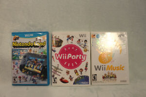 Wii Nintendo Game Bundle