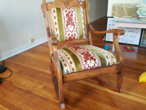 Antique rocky chair