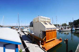 Experience life on the water living in a float home!