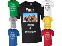 Custom Personalised Printed T Shirts Promotional T Shirts Stag and Hen Party