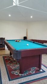 Pool table 7' by 4'