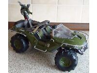 "HALO Warthog Diecast Video Game Toy (14"" Jada Toys)"