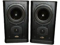 Tannoy 632 Profile Speakers in Ash Black - Great Cosmetic Condition - Retro Classics
