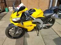 Aprilia rs4 125cc motorbike
