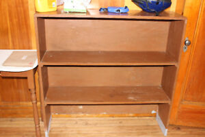 MOVING SALE - Solid Wood Shelf - See Other Ads